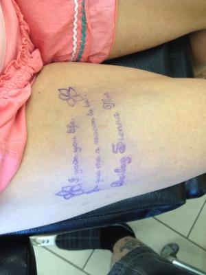 I've Been Tattooed!!! (2/6)